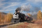 Thru Fall Colors, Chama, NM, Cumbres & Toltec RR