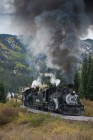 Cumbres & Toltec Train in Curve