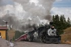 Leaving Cumbres, CO, Cumbres & Toltec RR