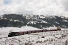 Los Pinos Tank in Snow, Cumbres & Toltec RR