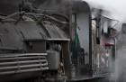 Peering Through the Steam, Cumbres & Toltec RR, Chama, NM