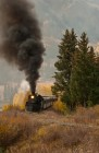 Steam Train Through Fall Colors, Cumbres & Toltec RR
