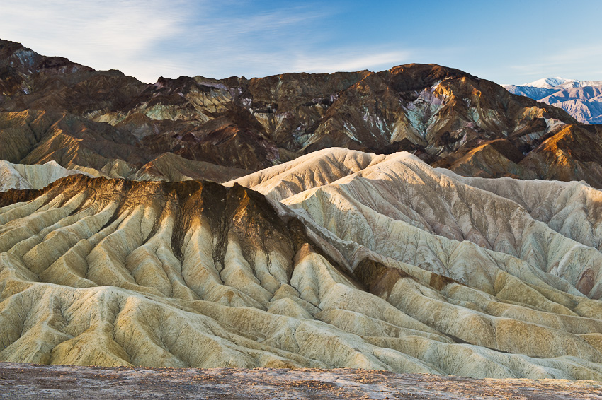 From Zabriskie Point at Death Valley National Park