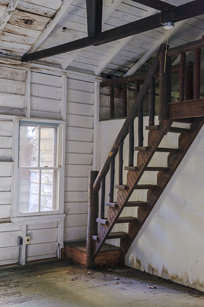Elkmont House Staircase - 2008