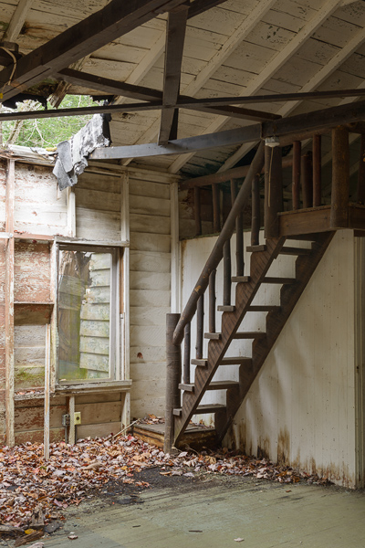 Elkmont House Staircase - 2013