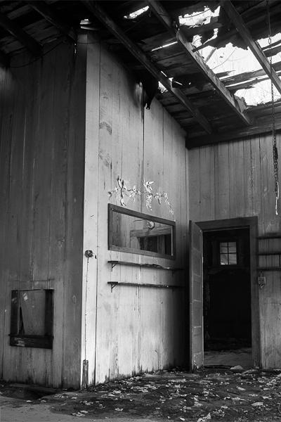 Deteriorating Elkmont Cabin in the Smokies