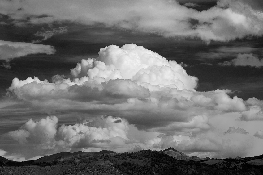 Clouds over Ridgway, CO