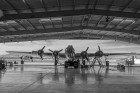 B-17G Hangar. Commemorative Air Force Museum, Mesa, AZ