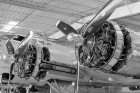 Boeing B-17 Flying Fortress Engines at Commemorative Air Force Museum, Mesa, AZ. (ZEISS Otus 55mm f/1.4 on Nikon D810.)