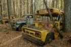 Old School Bus & Old Trucks. Old Car City USA, White, GA. (ZEISS Milvus 25mm F/1.4 on Nikon D850.)